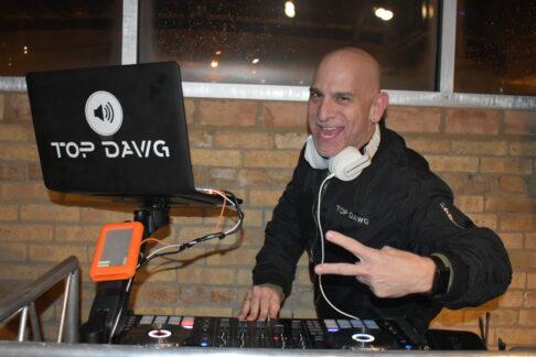 Top Dawg DJ at DJ stand